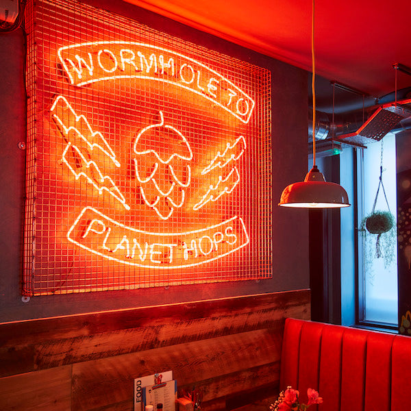 BREWDOG, CAMBRIDGE | LIGHTING SUPPLY | INTERIOR BY RELIC INTERIORS