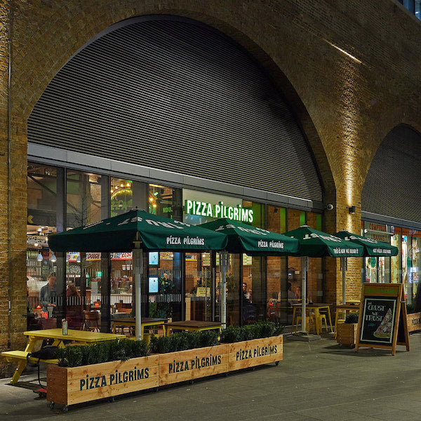 PIZZA PILGRIMS, LONDON BRIDGE | LIGHTING SUPPLY | INTERIOR BY PHILIP WATTS DESIGN