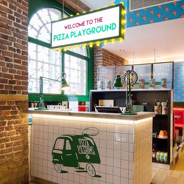 PIZZA PILGRIMS, SHOREDITCH | LIGHTING SUPPLY