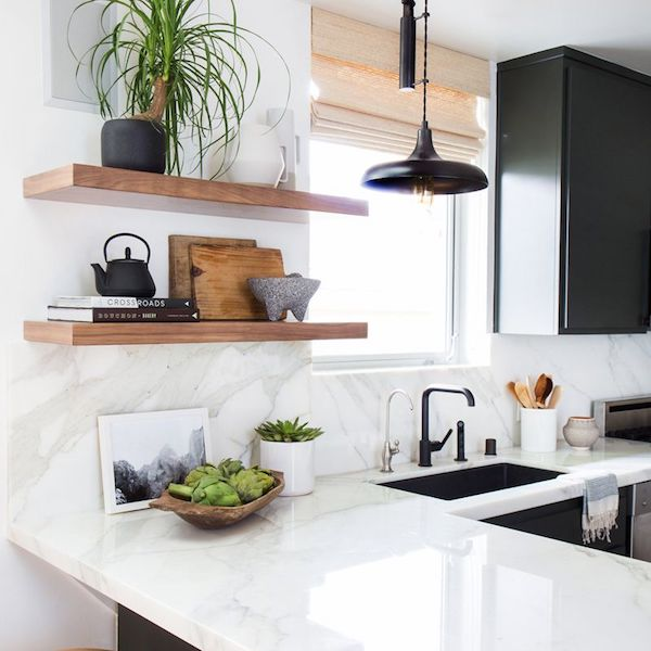 White Marble Kitchen