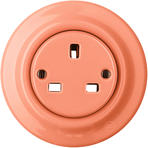 KATY PATY PORCELAIN WALL PLUG SOCKETS