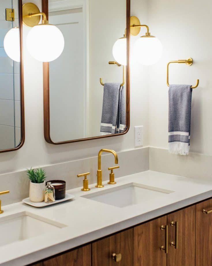 DYKE & DEAN | MID CENTURY BATHROOM DESIGN