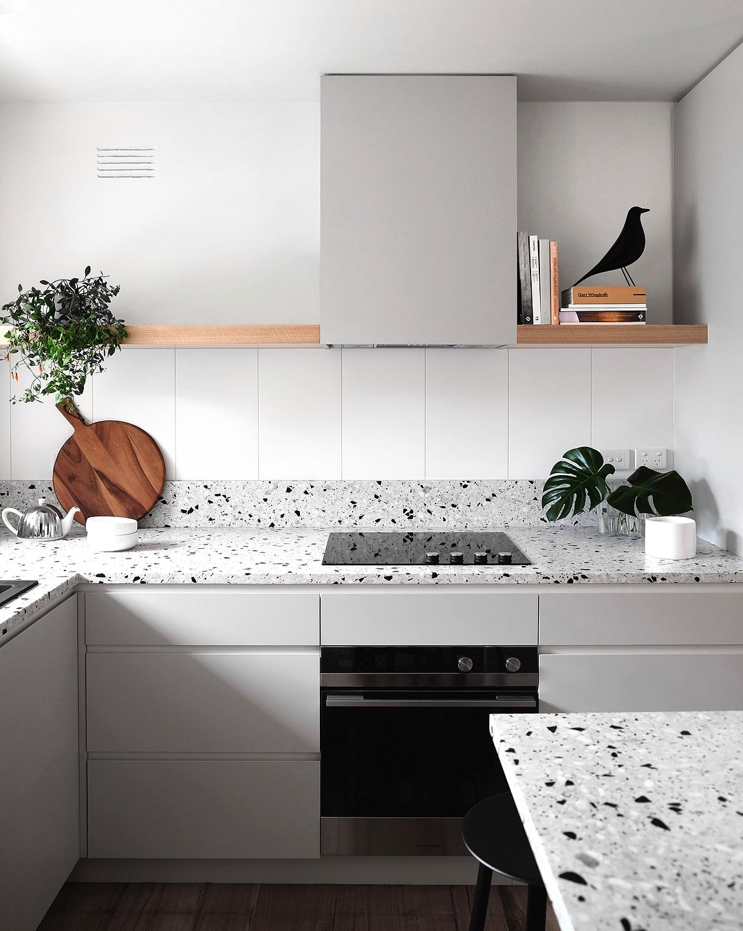 Amazing Grey Terrazzo Kitchen Dyke Dean Gmtry Best Dining Table And Chair Ideas Images Gmtryco