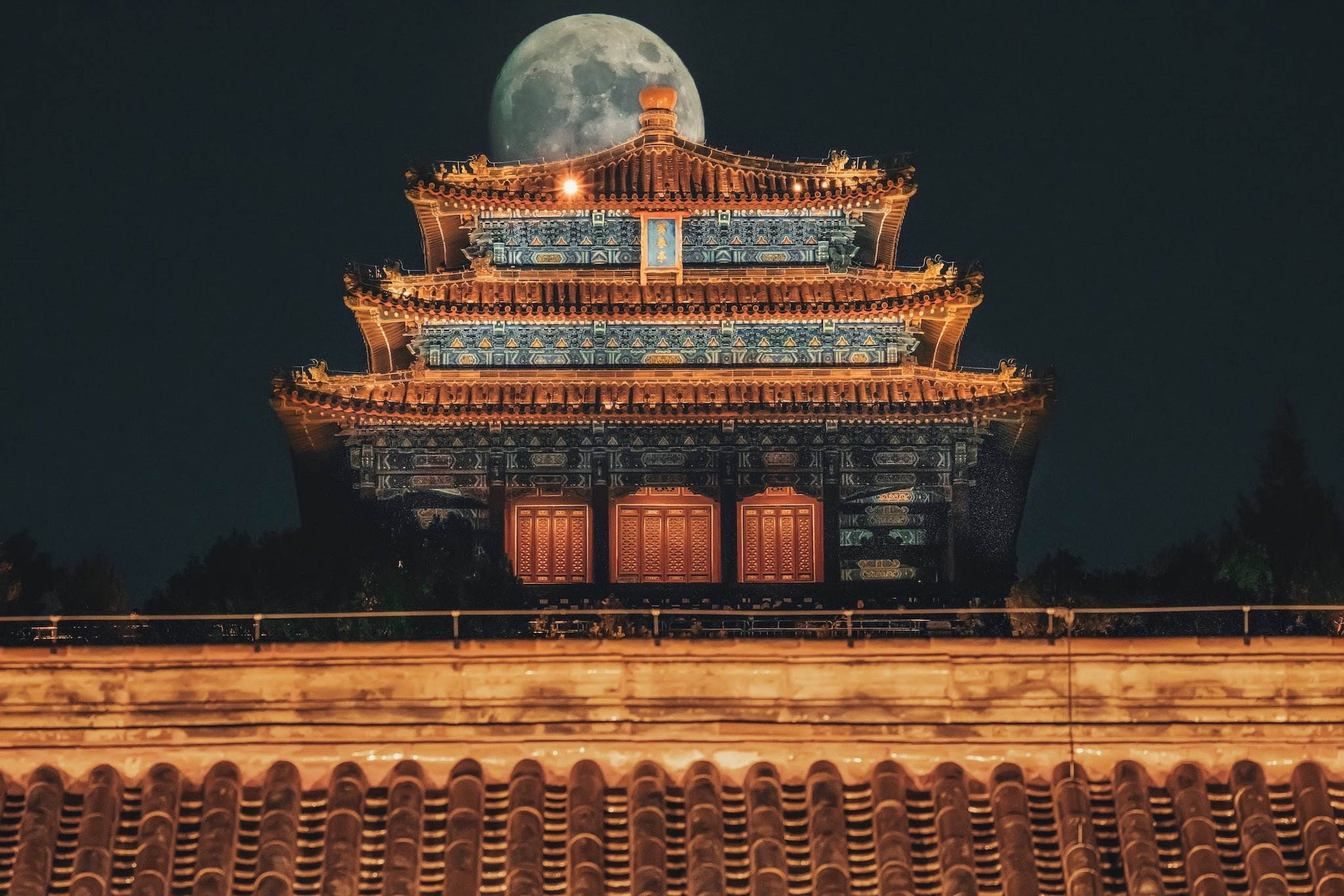 SUPER MOON OVER CHINA | DYKE & DEAN