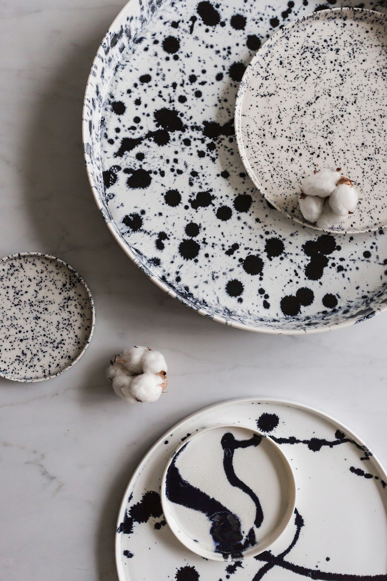 SPLATTERED CERAMICS