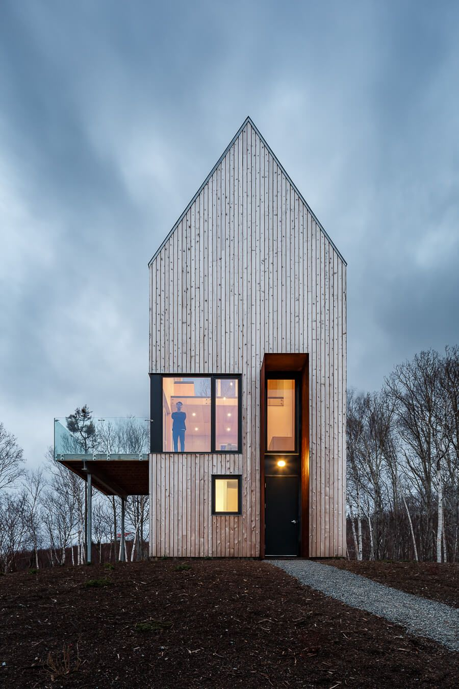 Tall Wooden House