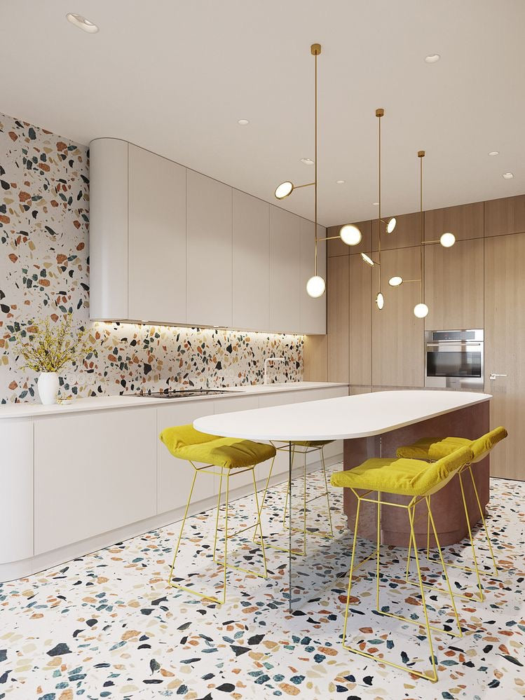Pleasing Terrazzo Kitchen Floor Dyke Dean Gmtry Best Dining Table And Chair Ideas Images Gmtryco
