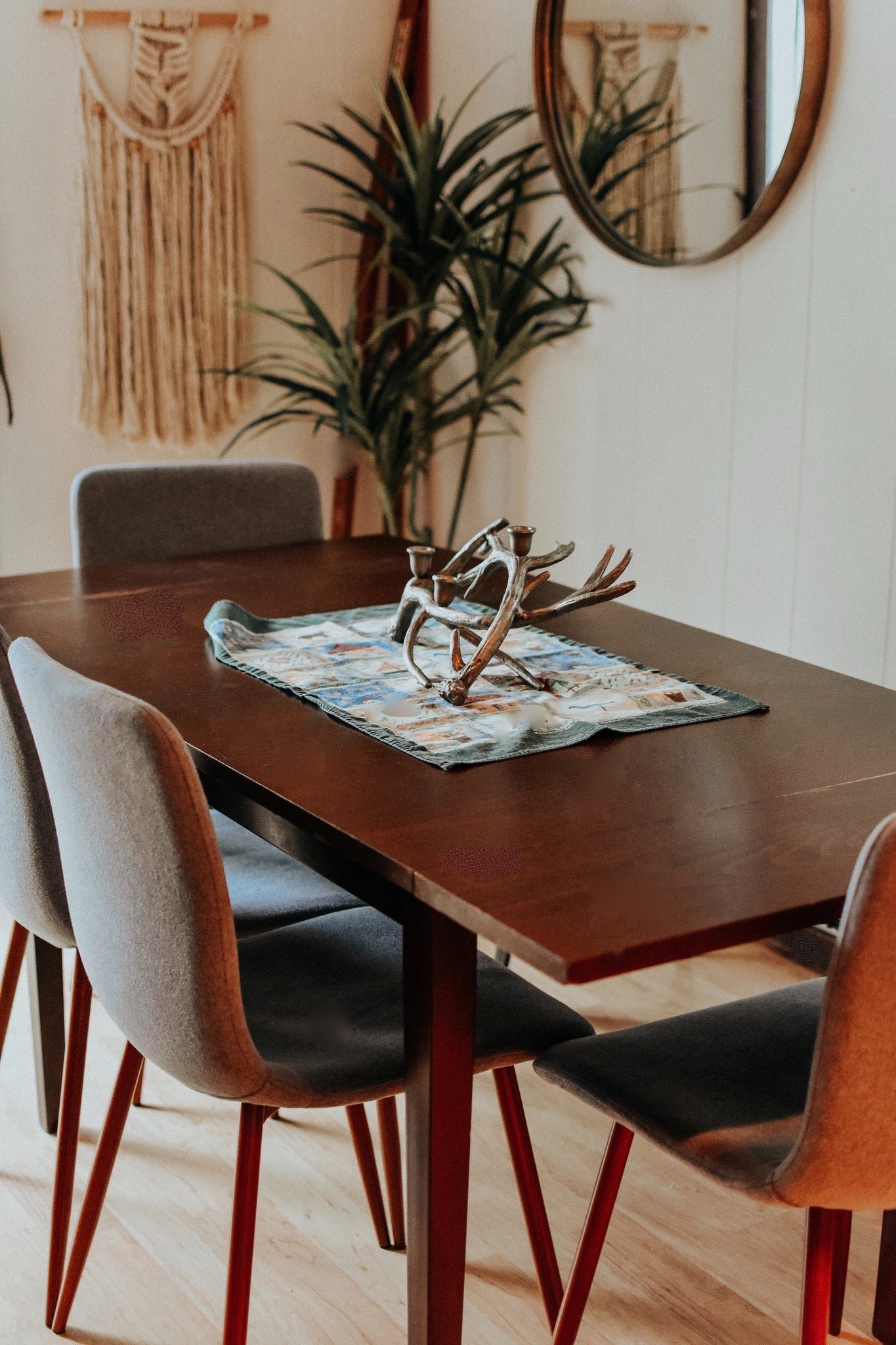 WOODEN DINING TABLE | DYKE & DEAN