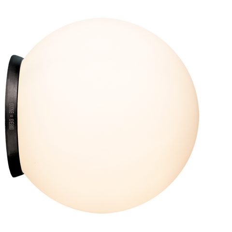 SPHERE LAMP BLACK BASE 300mm