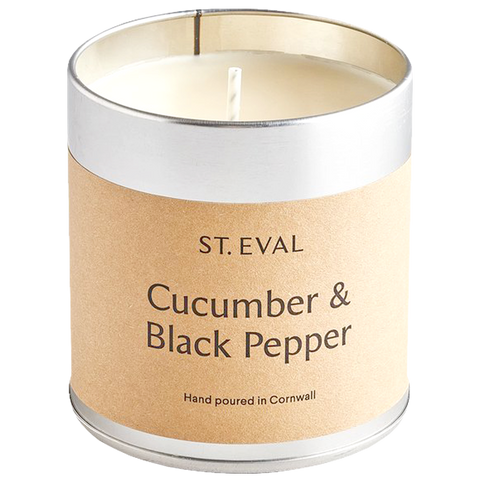 CUCUMBER & BLACK PEPPER TIN CANDLE