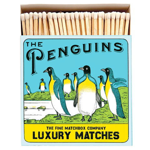 THE PENGUINS LUXURY SAFETY MATCHES