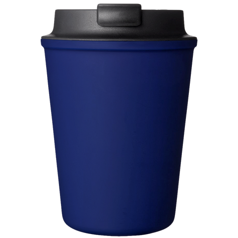 NAVY REUSABLE TRAVEL COFFEE CUP