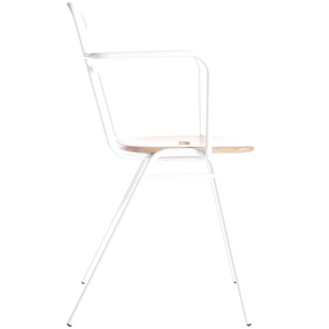 WORKING GIRL CHAIR WITH ARMS