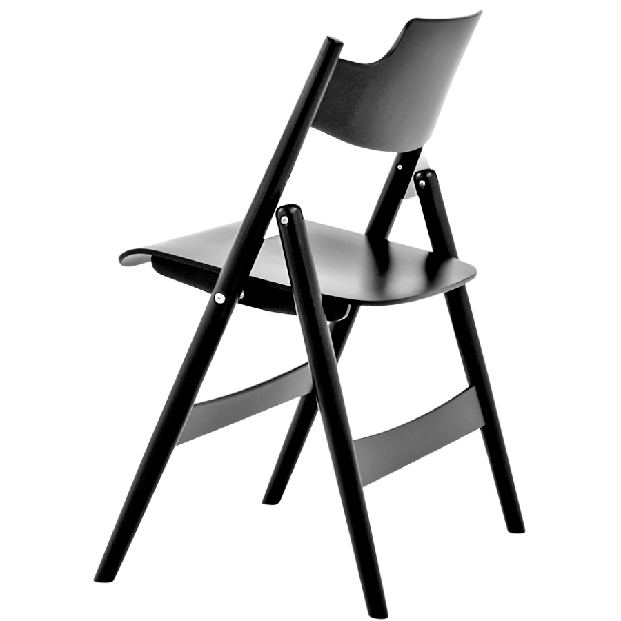 Se18 Folding Chair Stained Wood Dyke Dean