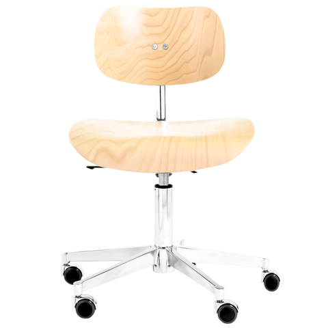 S197GH SWIVEL CHAIR BEECH