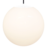 OPAL GLOBE PENDANT WHITE 500mm