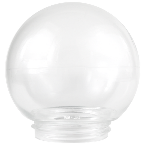 CLEAR GLOBE GLASS 85mm