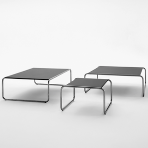 ADICO 120 LOW TABLES CHROME - TABLES - DYKE & DEAN  - Homewares | Lighting | Modern Home Furnishings