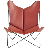LEATHER BUTTERFLY CHAIR 5014