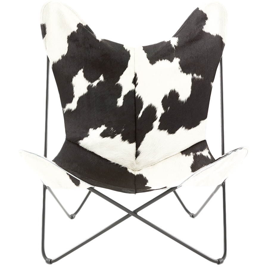 COWHIDE BUTTERFLY CHAIR 5014