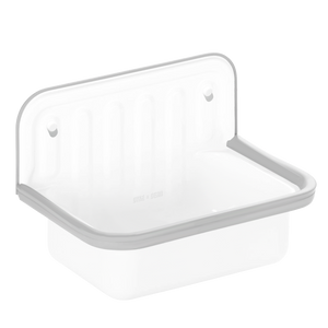 SMALL ENAMEL BUCKET SINK GREY RIM
