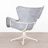 SHELL ARMCHAIR LIGHT GREY