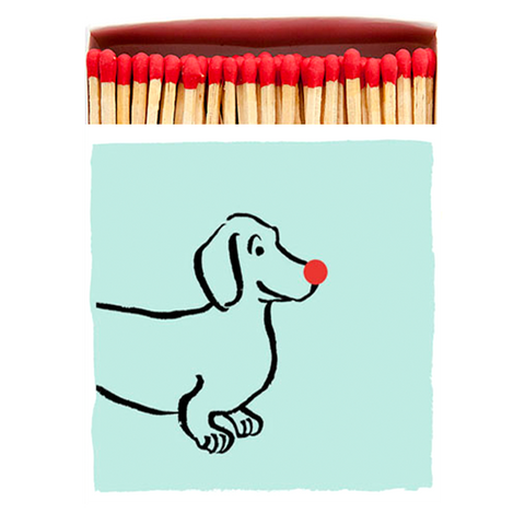 DACHSHUND LUXURY SAFETY MATCHES
