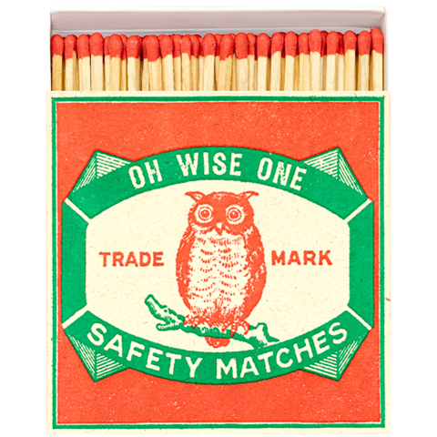 OH WISE ONE LUXURY SAFETY MATCHES