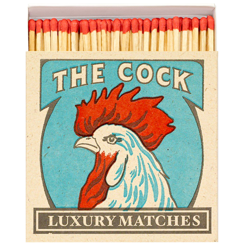 THE COCK LUXURY SAFETY MATCHES
