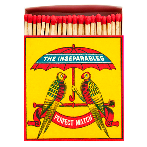 THE INSEPARABLES LUXURY SAFETY MATCHES