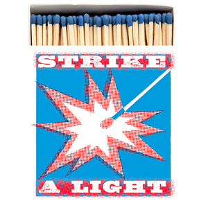 STRIKE A LIGHT LUXURY SAFETY MATCHES