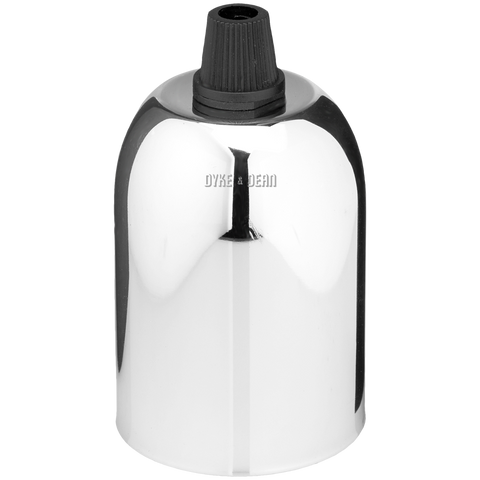 CHROME PLATED DROP CAP BULB HOLDER