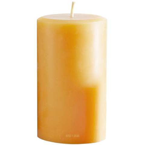PURE BEESWAX CANDLE 14cm - HOMEWARE - DYKE & DEAN  - Homewares | Lighting | Modern Home Furnishings