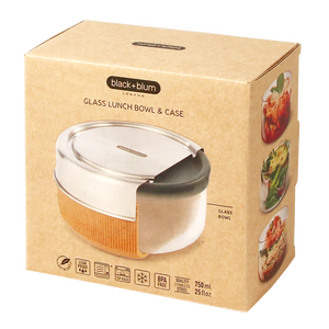 GLASS LUNCH BOWL 600ml