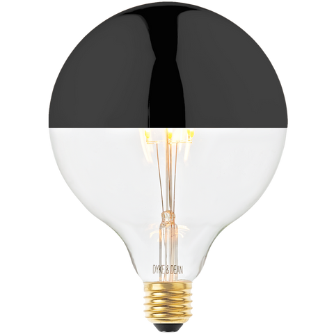 DYKE & DEAN LED BLACK CAP MEGA BULB E27 - BULBS - DYKE & DEAN  - Homewares | Lighting | Modern Home Furnishings