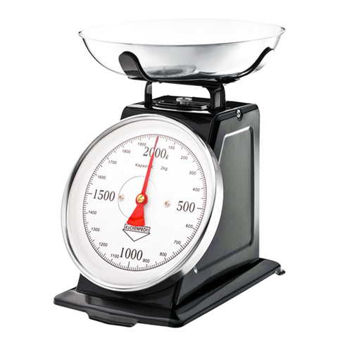 BLACK CLASSIC KITCHEN SCALES - KITCHENWARE - DYKE & DEAN  - Homewares | Lighting | Modern Home Furnishings