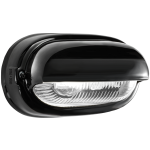 BLACK PORCELAIN BULKHEAD LAMP