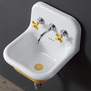 CERAMIC MOUNTED SMALL SINK