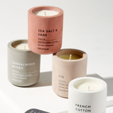 SCENTED CANDLE FRENCH COTTON