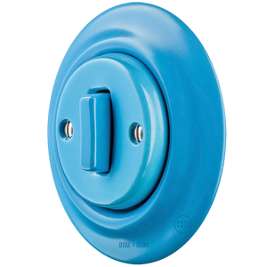 PORCELAIN WALL SWITCH AZURE SLIM BUTTON