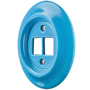 PORCELAIN WALL SOCKET AZURE PC/USB