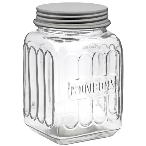 BONBON SCREW TOP JAR - KITCHENWARE - DYKE & DEAN  - Homewares | Lighting | Modern Home Furnishings