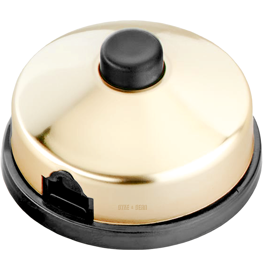BRASS PLATED FOOT INLINE LAMP SWITCH