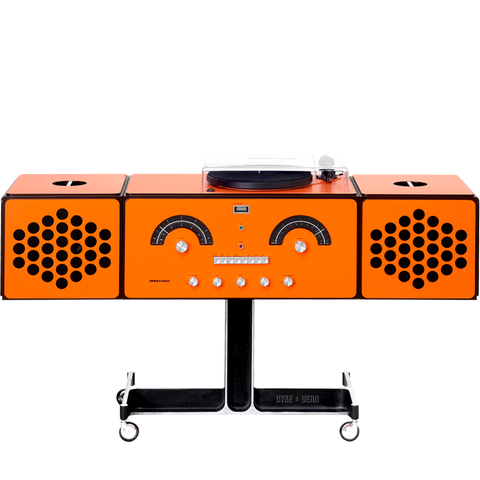 RADIOFONOGRAFO RR226 FO-ST ORANGE - SOUND - DYKE & DEAN  - Homewares | Lighting | Modern Home Furnishings