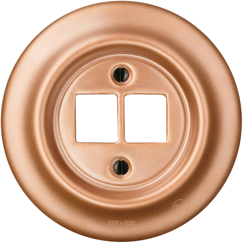 PORCELAIN WALL SOCKET COPPER PC/USB