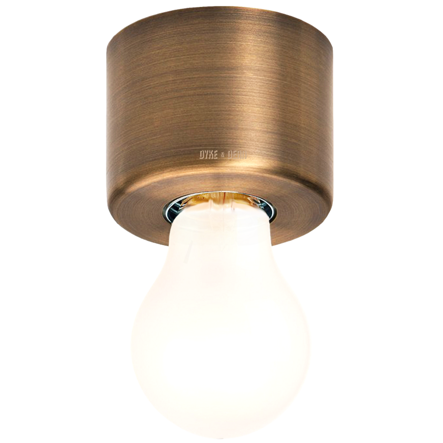 BRUSHED BRASS REFLECTOR LAMP