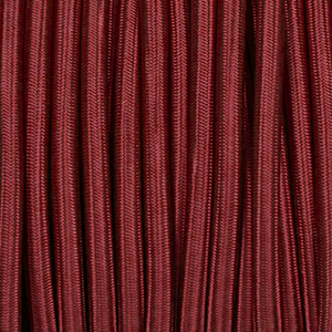 BURGUNDY ROUND FABRIC CABLE