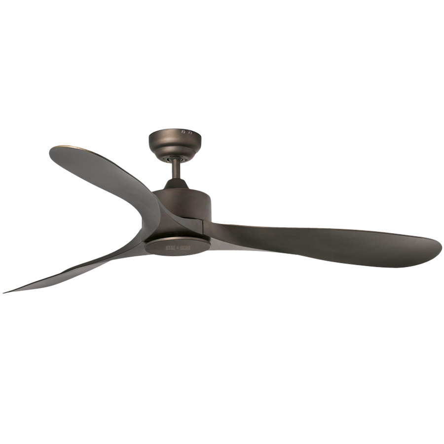 STANDARD BROWN CEILING FAN - FANS - DYKE & DEAN  - Homewares | Lighting | Modern Home Furnishings