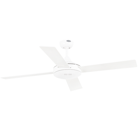 SPANISH 4 BLADE WHITE CEILING FAN