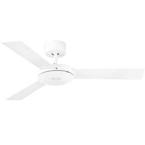 SPANISH SMALL WHITE CEILING FAN - FANS - DYKE & DEAN  - Homewares | Lighting | Modern Home Furnishings